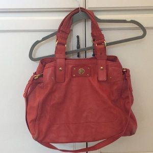Red Marc Jacobs leather bag